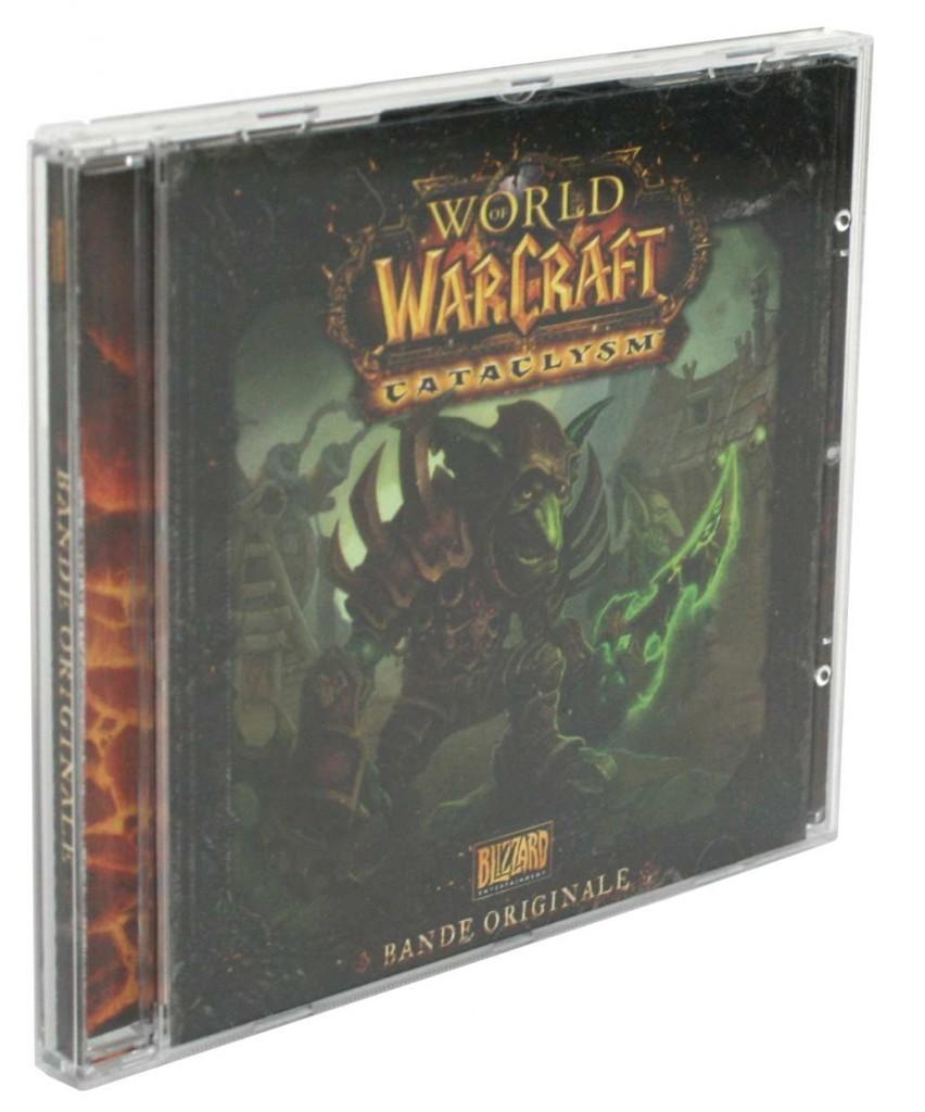 CD de l'OST du jeu Cataclysm (World of Warcraft)