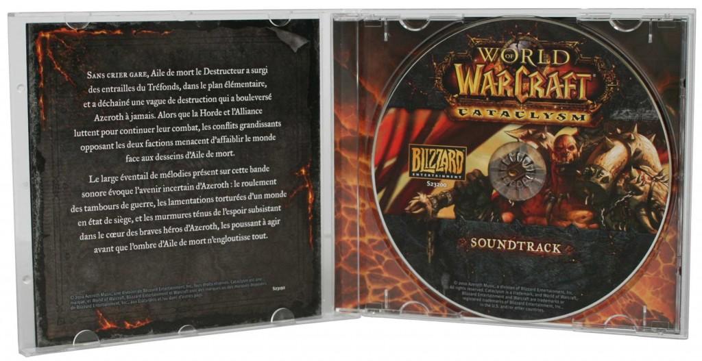 Boîte de l'OST du jeu Cataclysm (World of Warcraft)