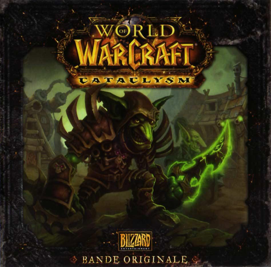 Jaquette de l'OST du jeu Cataclysm (World of Warcraft)