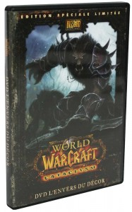 DVD making of du jeu Cataclysm (World of Warcraft)
