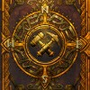 Face de la couverture cartonnée de l'art book Cataclysm (World of Warcraft)