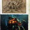Page 115 de l'Art book Cataclysm (World of Warcraft)