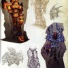 Page 169 de l'Art book Cataclysm (World of Warcraft)