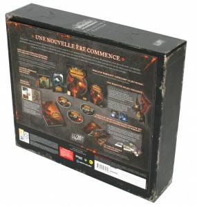 La feuille de description peut être décollée du dos de la box sans abîmer le packaging