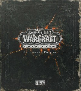 face avant de la Box collector Cataclysm (World of Warcraft)