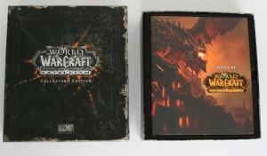 Etape 1 de l'ouverture de la Box collector Cataclysm (World of Warcraft)