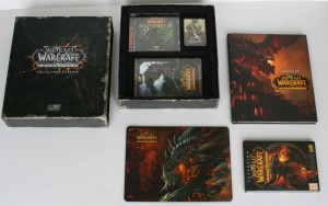 Etape 3 de l'ouverture de la Box collector Cataclysm (World of Warcraft)