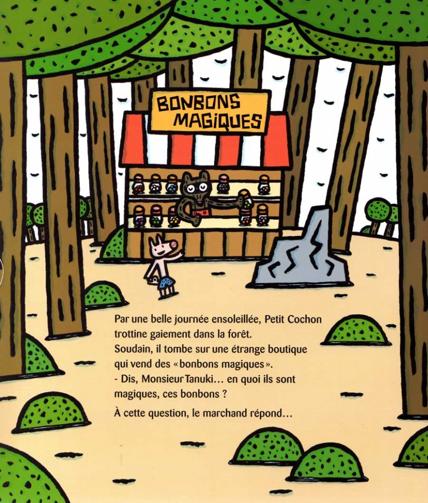 Page 1 de Chic, des bonbons magiques ! (nobi nobi !)