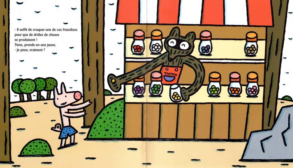 Page 2 et 3 de Chic, des bonbons magiques ! (nobi nobi !)
