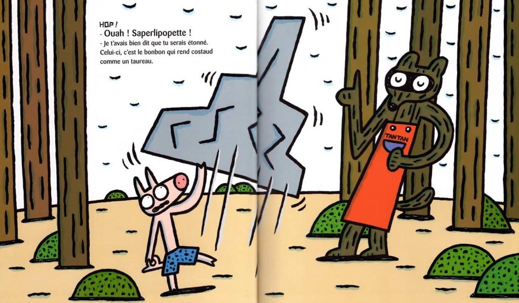 Page 5 et 6 de Chic, des bonbons magiques ! (nobi nobi !)