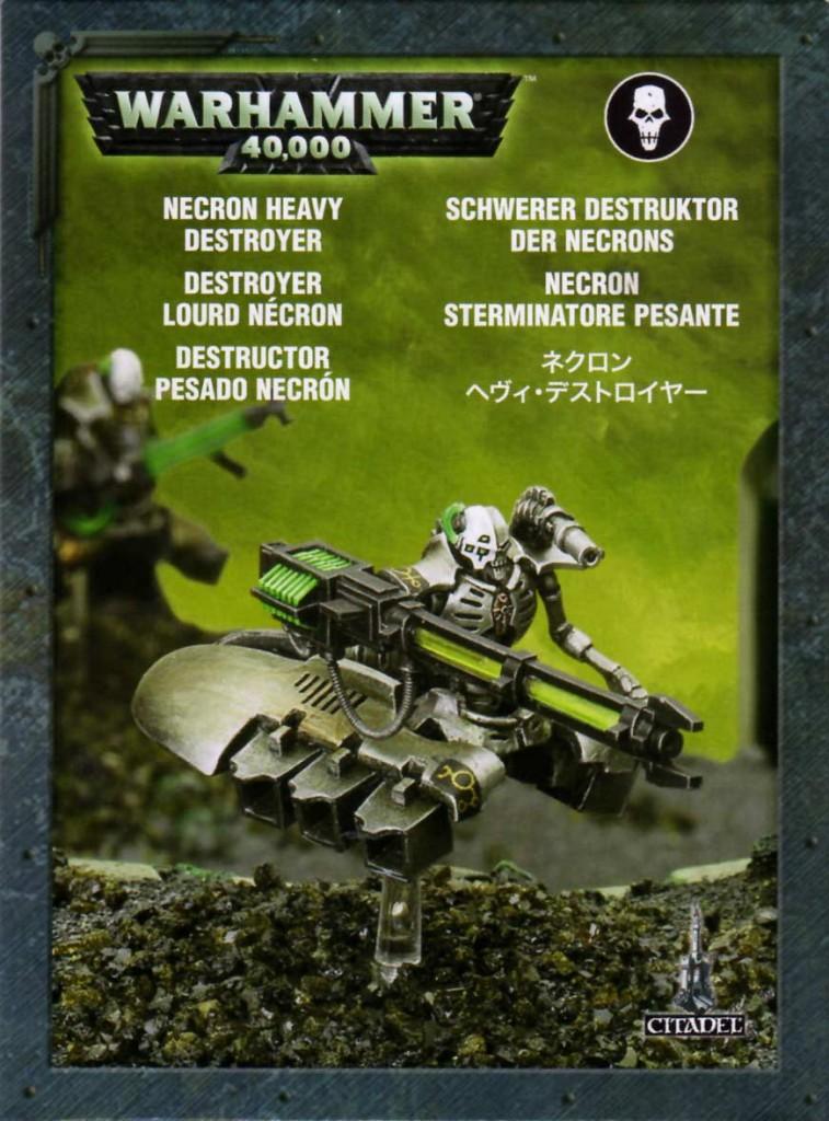 Packaging du Destroyer Lourd (Warhammer 40.000)