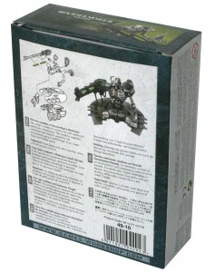 Dos du Packaging du Destroyer Lourd (Warhammer 40.000)
