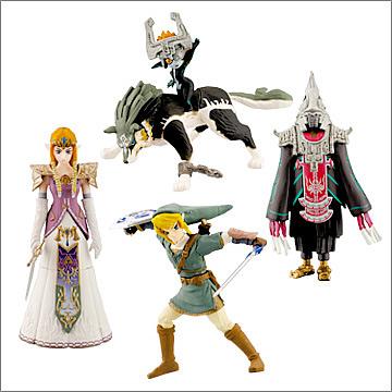 Série de Gashapons ayant pour thème le jeu vidéo Zelda de Nintendo