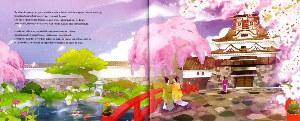 Page 1 et 2 de Princesse Pivoine (nobi nobi !)