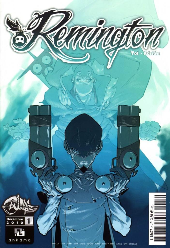 Remington Tome 1 couverture