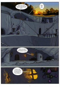 Page 1 du tome 1 de Remington
