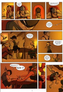 Page 3 du tome 1 de Remington