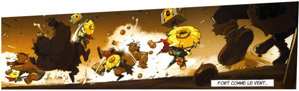 L'Epouvantail est un combattant légendaire qui protégeais le village des flaqeux