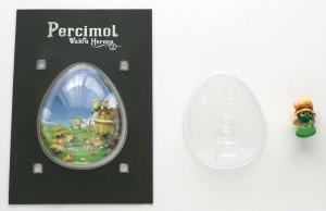 L'emballage est emboîté et permet de ranger la figurine après usage