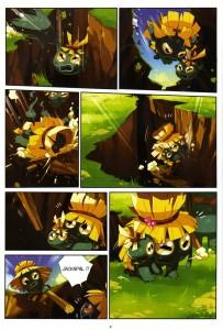 Page 6 du tome 2 de Wakfu Heroes - Percimol