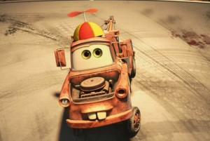 Martin se déguise en enfant pour berner Le Congélateur (Cars - Pixar)