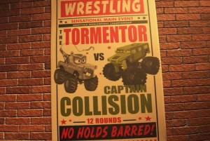 Martin affronte le Captain Collision (Cars - Pixar)