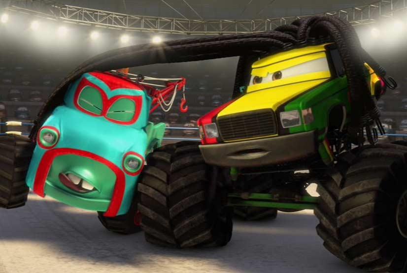 Martin affronte le Rastatineur (Cars - Pixar)