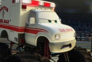 Martin affronte le docteur Feel Bad (Cars - Pixar)