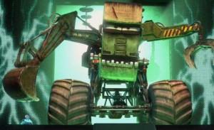 Martin affronte le monstre du docteur Frankenwagen (Cars - Pixar)