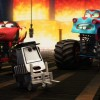 Finalement Flash et Martin sont devenus champion du monde de catch (Cars - Pixar)