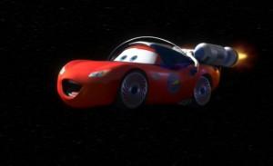 Flash Cosmonaute - Martin Lunaire (Pixar - Cars)