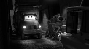 Martin va voir un de ses informateurs (Cars Toon - Pixar)