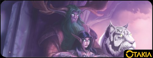 Header Otakia de l'extension Shadows & Light du jeu de rôle Warcraft