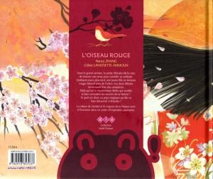 Dos de la couverture de L'Oiseau Rouge (nobi nobi !)
