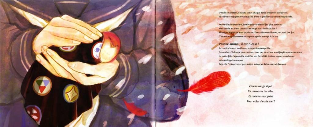 Page 5 et 6 de L'Oiseau Rouge (nobi nobi !)