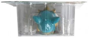 Vue dessus du packaging de la figurine Yugo HW N°1 (Wakfu)