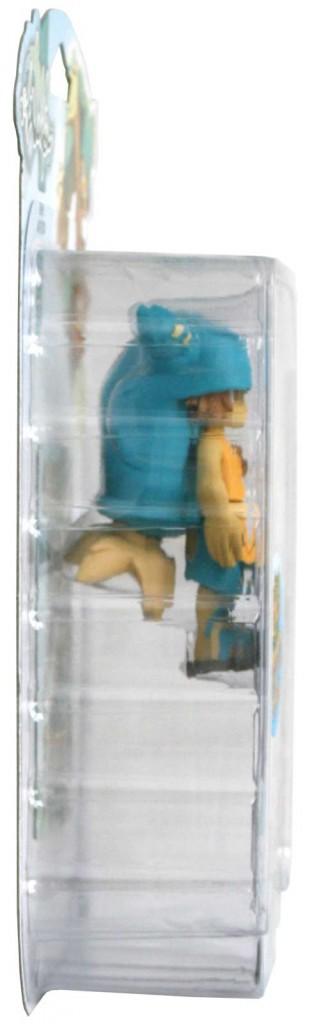 Vue latérale du packaging de la figurine Yugo  HW N°1 (Wakfu)