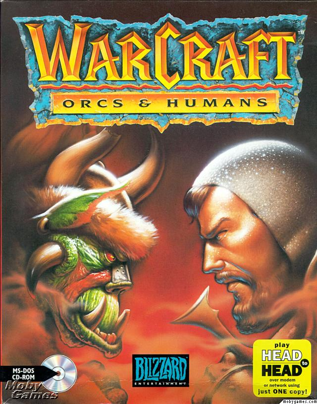 Boite du jeu Warcraft 1 : Orc vs Humain