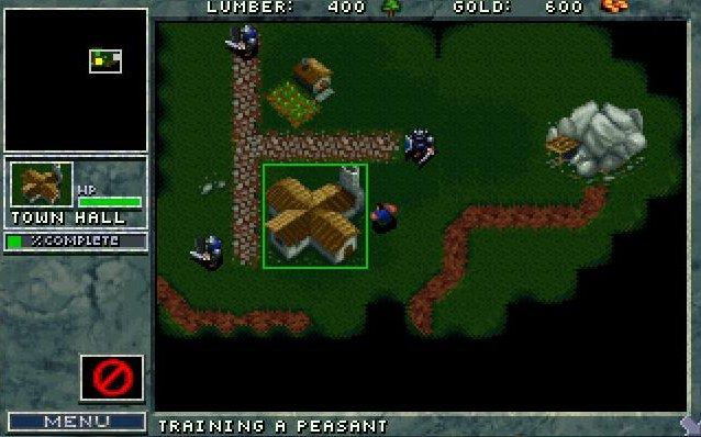 Warcraft 1 : interface humaine & création d'unité