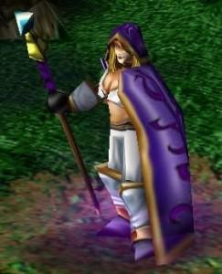 Jaina Portvaillant (Proudmore) dans Warcraft 3