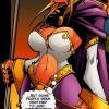 Jaina Portvaillant (Proudmore) dans le comics Warcraft