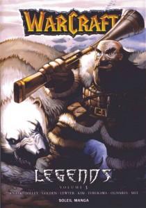 Couverture du tome 3 de Warcraft Legends, elle représente Hemest Hesingwary