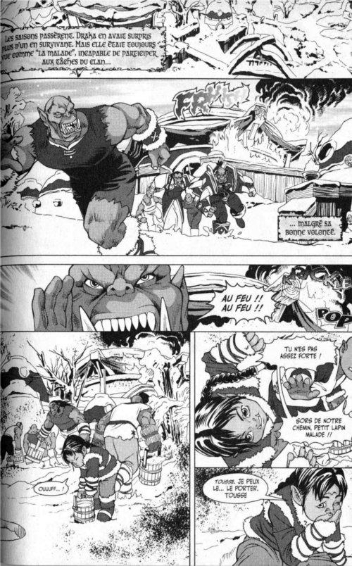 Page 5 du chapitre L'apprentissage d'une guerrière, tiré de Warcraft Legends tome 4