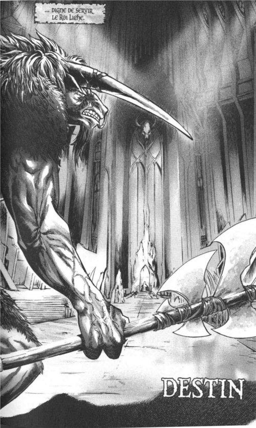 Page 2 du chapitre Destin, tiré de Warcraft Legends tome 4