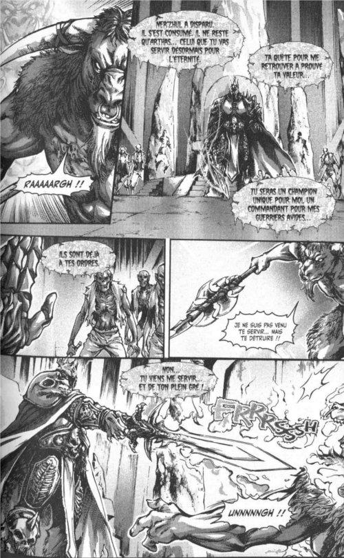 Page 4 du chapitre Destin, tiré de Warcraft Legends tome 4
