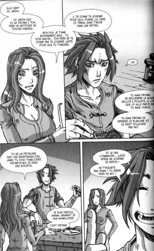 Page 4 du chapitre le pirate de la voile sanglante, tiré de Warcraft Legends tome 4