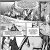 Page 1 du chapitre 2 de l'apprentissage de la Guerrière, tiré du manga Warcraft Legends