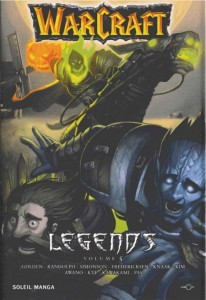 Couverture du tome 5 de Warcraft Legends