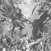 Les troupes de Lor'Themar défendant Quel'Thalas dans le manga Warcraft le Puits solaire, tome 3 : les terres fantômes