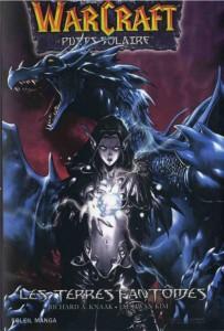 Couverture du tome 3 du manga Warcraft Les terres fantomes